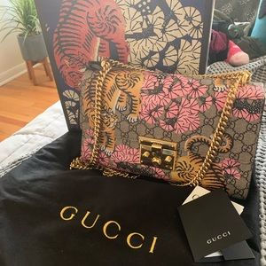 Gucci Bengal padlock shoulder bag